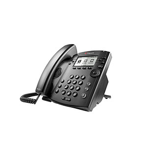 Polycom VVX 310 Telefone EmpresariaL Multimídia, Skype for Business, HD Voice, PoE.